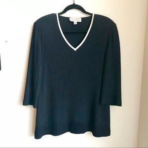 VTG St. John Collection Santana Knit Tunic Sweater
